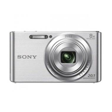 Sony DSC-W830 Silver Kamera Pocket + Sony SD 8 GB + Screen Guard