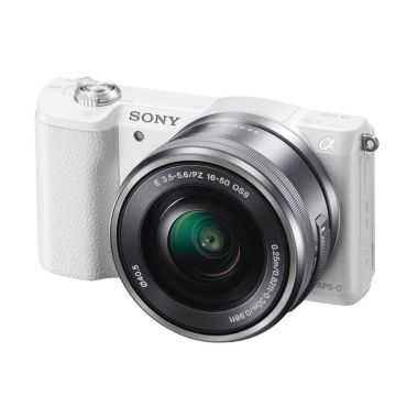 harga SONY DSLR Camera ILCE 5100L ( White ) Cirebon Indah Foto Blibli.com