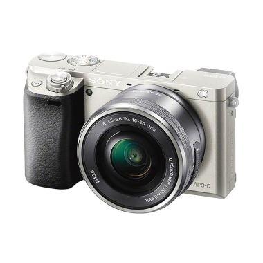 SONY ILCE 6000L Silver Kamera