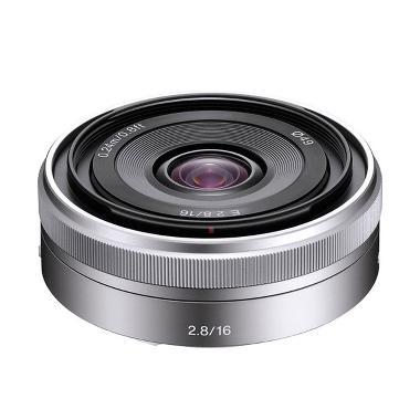 SONY 16mm f/2.8 Wide-Angle Alpha E- ... amera - Silver [SEL16F28]
