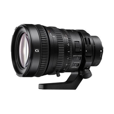 SONY FE PZ 28-135mm f/4 G OSS Lensa Kamera - Hitam [SELP28135G]