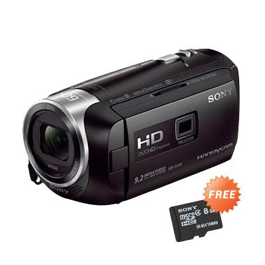 Sony HDR-PJ410 Black Camcorder + Free Sony microSD 8 GB