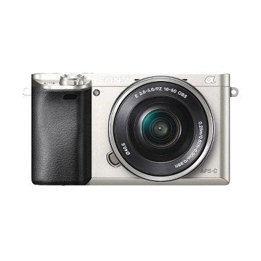 Sony ILCE-6000L Silver Kamera Mirrorless
