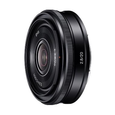 Sony Lens E 20mm f/2.8 Lensa Kamera