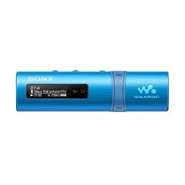 SONY NWZ-B183F Flash MP3 Player With Built-in FM Tuner - Biru [4 GB]