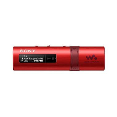 SONY NWZ-B183F Flash MP3 Player With Built-in FM Tuner - Merah [4 GB]