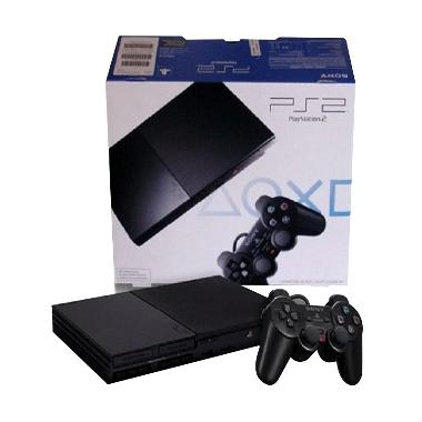 Sony Playstation 2 Seri 9 Multi + HDD120GB + 2 Stick Wireless