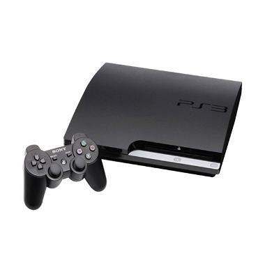 Sony PS 3 Slim Seri 3xxx ODE [120 GB] + Free HDD Ext 120 GB + 2 Sticks