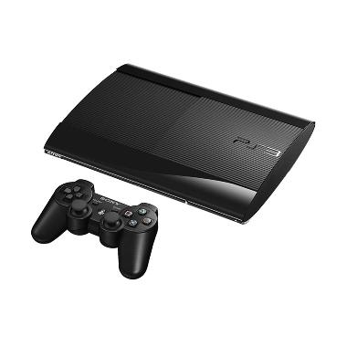 Sony Playstation 3 Superslim Hitam Original Game Console [500 GB]