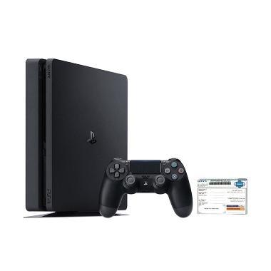 SONY PlayStation 4 Slim Dilengkapi ... si Resmi - Hitam [500 GB]