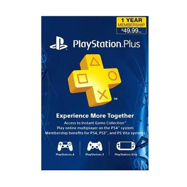 Sony PlayStation Plus [12 Bulan/US]