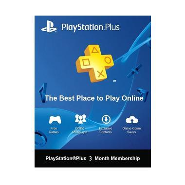 Sony PlayStation Plus [3 Bulan/Asia]