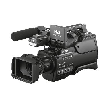 harga Sony Professional HXR-MC2500 Shoulder Mount AVCHD Camcorder Free 1 PCS Extra Battery Blibli.com