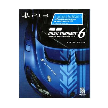 Sony PS3 Gran Turismo 6: 15th Anniversary Edition DVD Game
