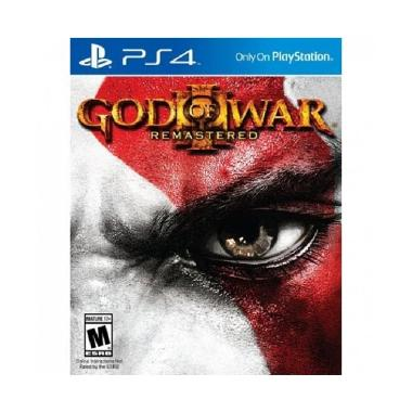 Sony PS4 God Of War III DVD Game