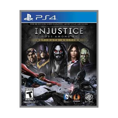 harga Sony PS4 Injustice God Among Us DVD Game - Blibli.com