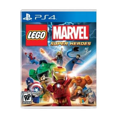 Sony PS4 Lego Marvel Super Heroes DVD Game