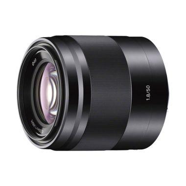 Sony SEL 50mm F1.8 OSS Black Lensa Kamera