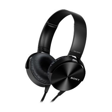 harga Sony MDR-XB450AP Stereo Hitam Headphone Blibli.com