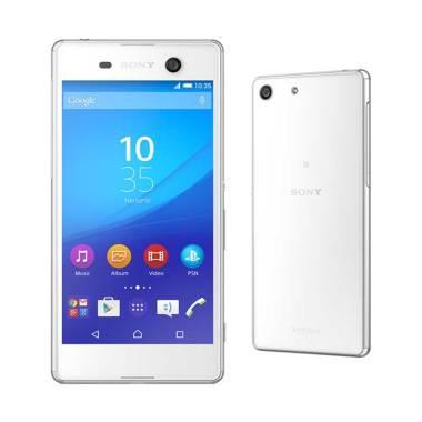 Sony Xperia M5 Dual Smartphone - White