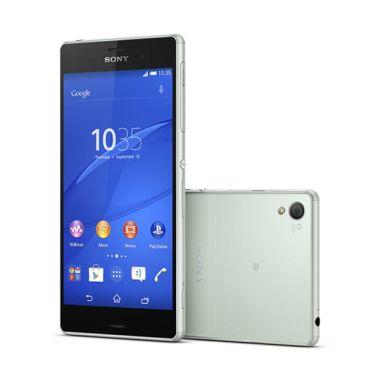 Sony Xperia Z3 D6653 LTE Silver Green Smartphone