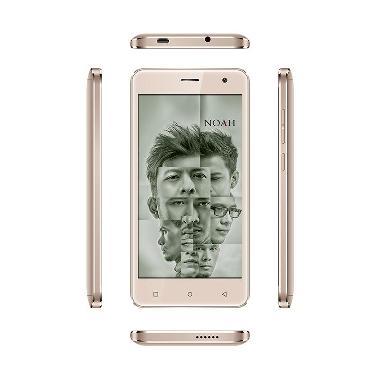 ICT - SPC Noah S12 Mercury Smartphone - Gold [Free Voucher Pulsa]