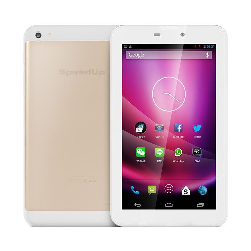 Jual Tablet SpeedUp Pad Gold 3G Free Silikon Pad Gold Harga Rp 1299000. Beli Sekarang dan Dapatkan Diskonnya.