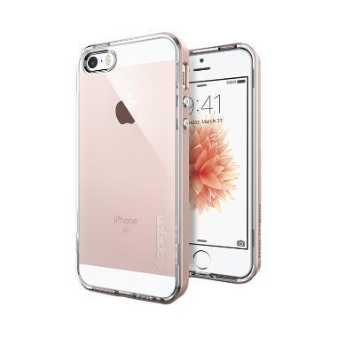 Spigen Neo Hybrid Crystal Casing for iPhone SE/5S/5 - Rose Gold