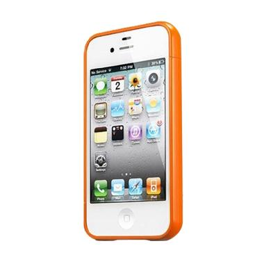 Spigen SGP Linear Ex Color Casing for iPhone 4S - Solaris Orange