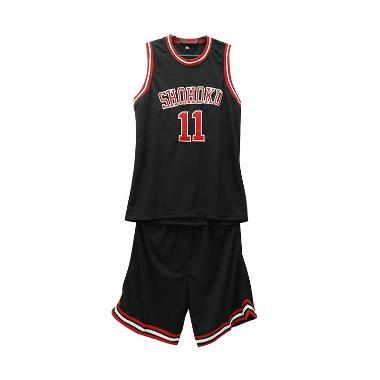 Spovers Storage Shohoku Slam Dunk Jersey Basket Pria