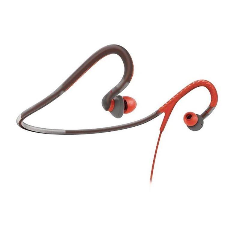 Philips Earhook SHQ4200 Grey Orange Action Earphone