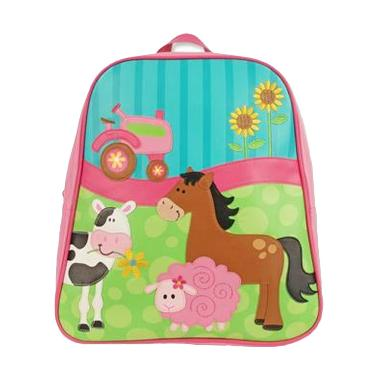 Stephen Joseph Go Go Bag Girl Farm F15 SJ1201-68B Tas Anak