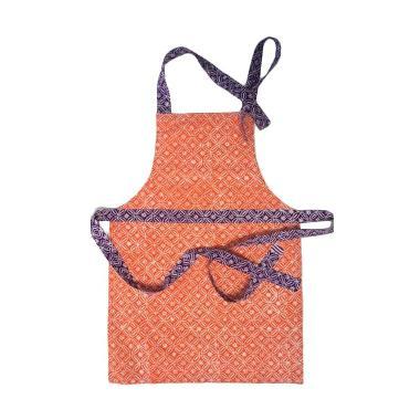 Strawberry Patch Kids Apron Batik - Orange