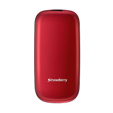 Strawberry Flip S1272 Handphone - Red