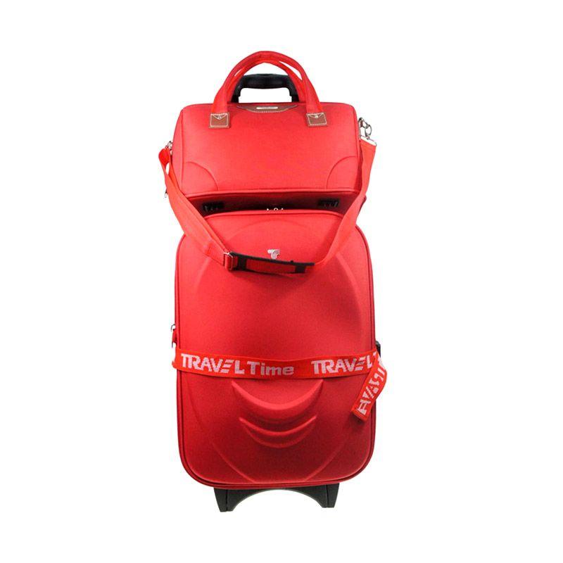 Traveltime 5459 Merah Travel Bag Set