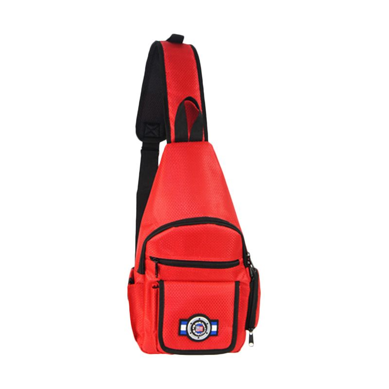 Traveltime PAU 914 Shoulder Red Tas ...