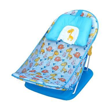 Baby Bather Sugar Baby Smiley Giraffe Blue Kursi Mandi Bayi