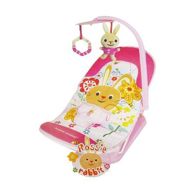 Sugar Baby Rossie Rabbit Fold Up Infant Seat Bouncer