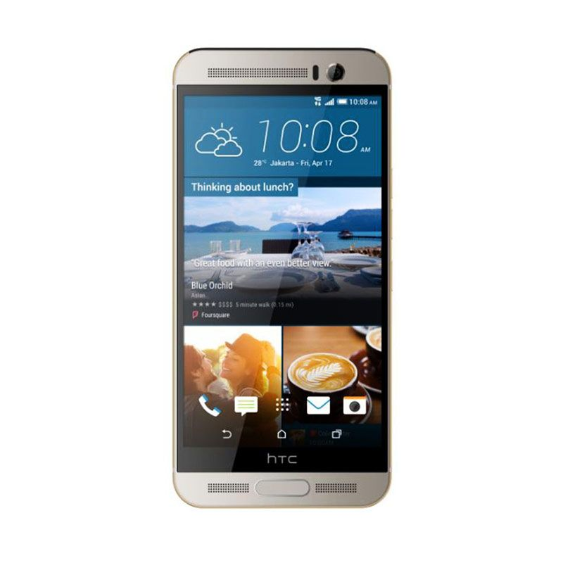HTC One M9+ Plus Silver Smartphone [4G/ROM 32GB/RAM 3GB/20 MP]