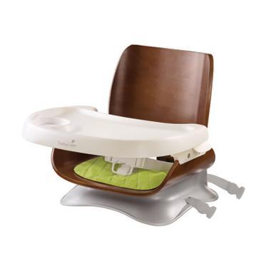 Summer Bentwood Booster Seat 13310 Dark Walnut Kursi Makan Bayi