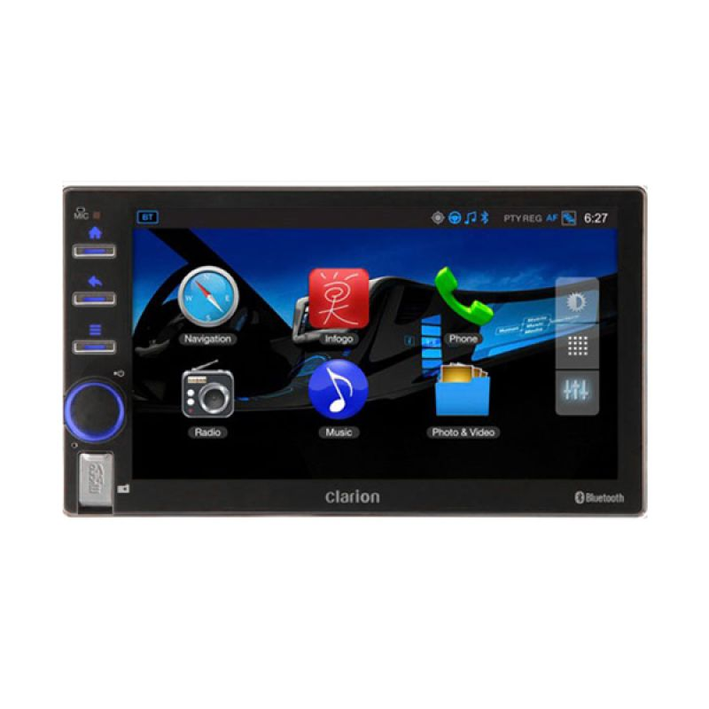 Clarion AX 1 Head Unit Double Din [ ...