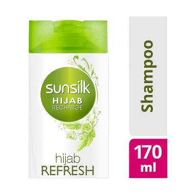 BELI..!!! Sunsilk Hijab Recharge Shampoo Hijab Refresh 170ml Terbaik