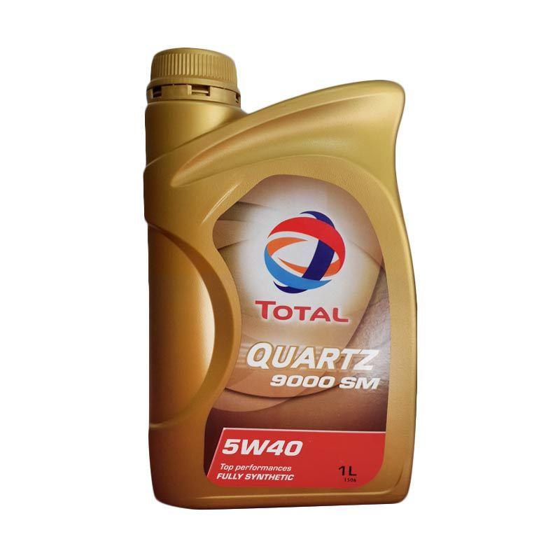 Jual Total Quartz 9000SM Pelumas Mobil 1 Liter 5W40 Terbaru