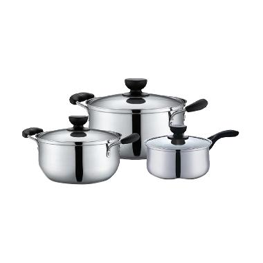 Supor S15S-T1 Stainless Steel Cookware Set Panci