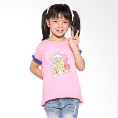 Surfer Girl Junior 7CHINTIA Pink Atasan Anak