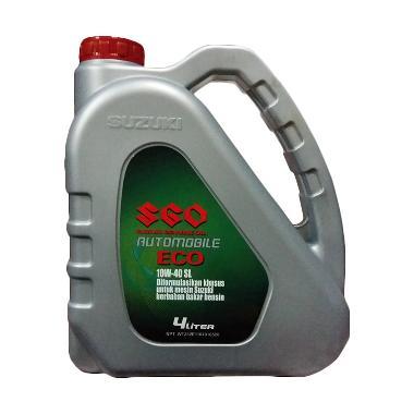 Suzuki Genuine Oil Automobile Synthetic ECO Oli Pelumas 10W 40 4 L
