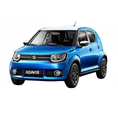 Suzuki Ignis 1.2 GX MT Mobil - Dual ... earl & Arctic White Pearl