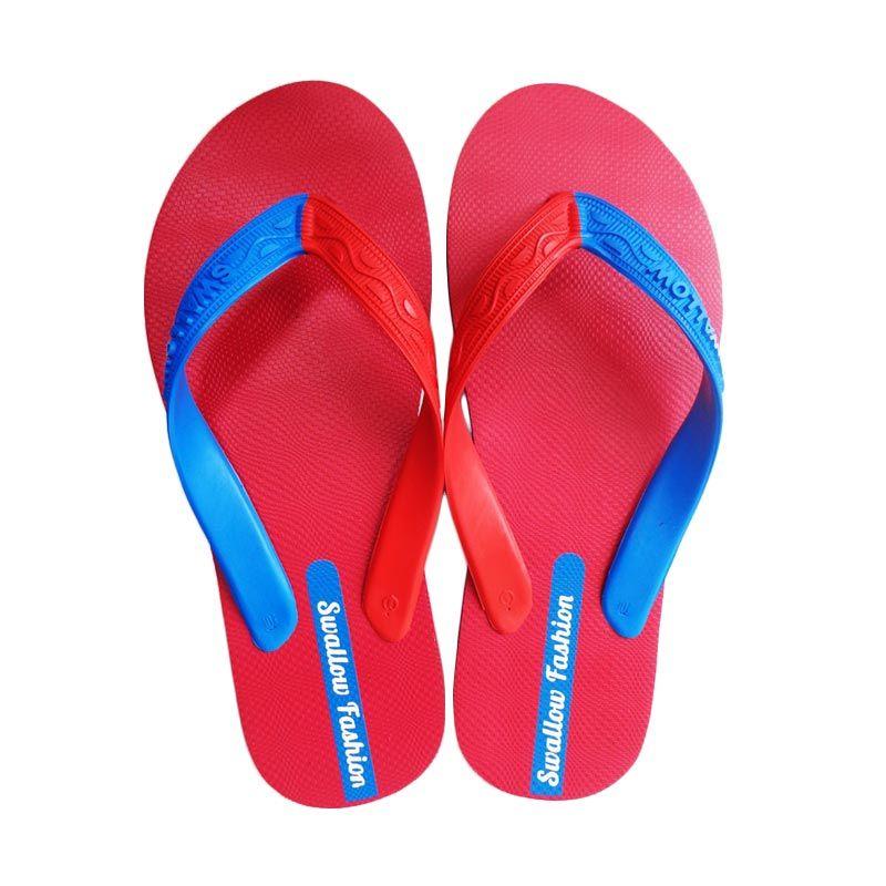 Swallow FASHION MALE Red Sandal Jepit