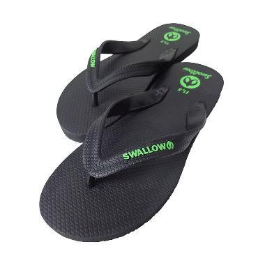 Swallow Slipper Bali Sandal Jepit - Black