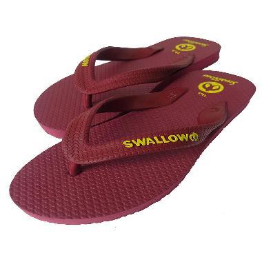 Swallow Bali Red Maroon Sandal Jepit